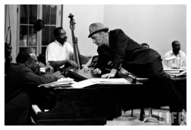 Count Basie and Frank Sinatra