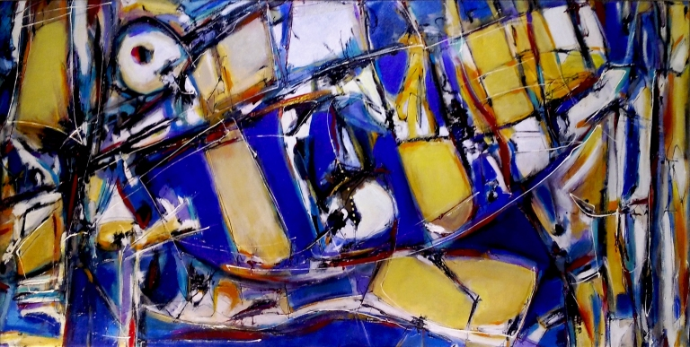 Alperin_Kind of Blue (and Ochre too)_2014_142x72